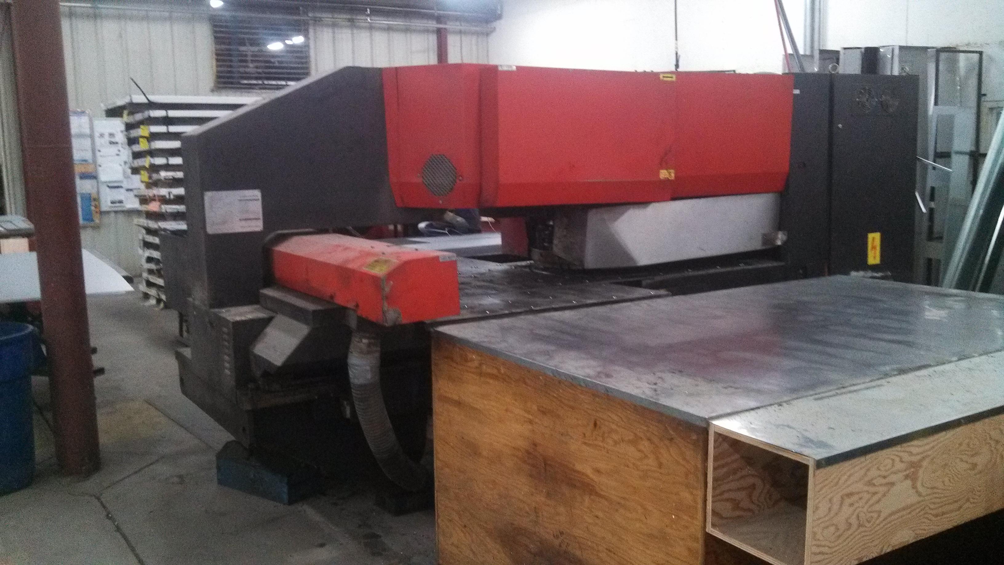 Turret Punches : Amada Pega 244 CNC Turret Punch