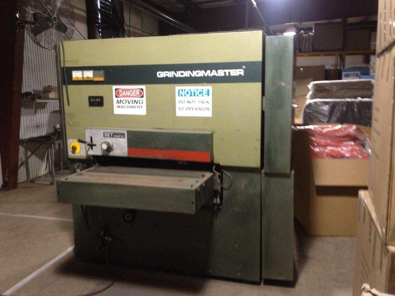 Finishing Equipment Grindingmaster Model Mcsbb 900 Dual